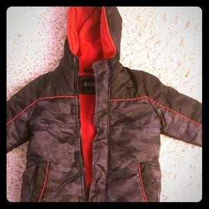 Other - Xtreme 3T Black with Red lining winter coat